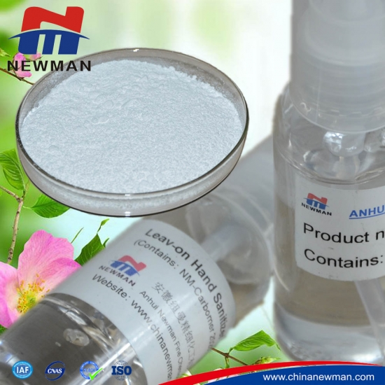 carbomer 1342 for antibacterial hand gel