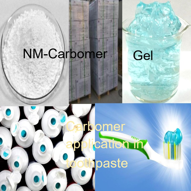 NM-Carbomer product application in Oral Care products
